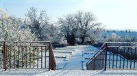 belassi záhrada zima