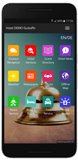 Mobilná recepcia Gustaffo.com vytvára priestor pre lepšiu komunikáciu s hosťom