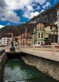most slávy potok